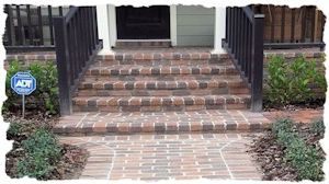 Clay Brick Steps 300x168