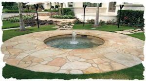 Tennessee Flagstone Fountain 300x168