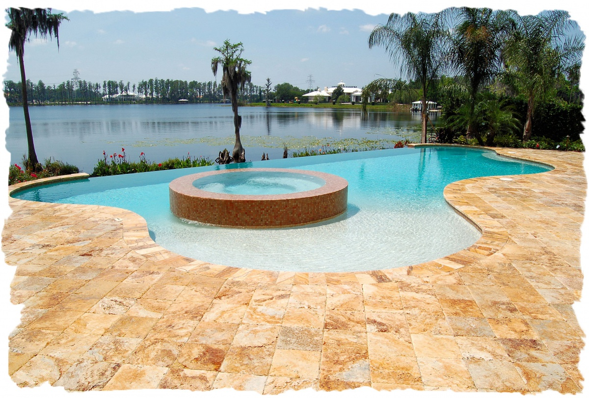 Gold-Travertine-Pool-Deck